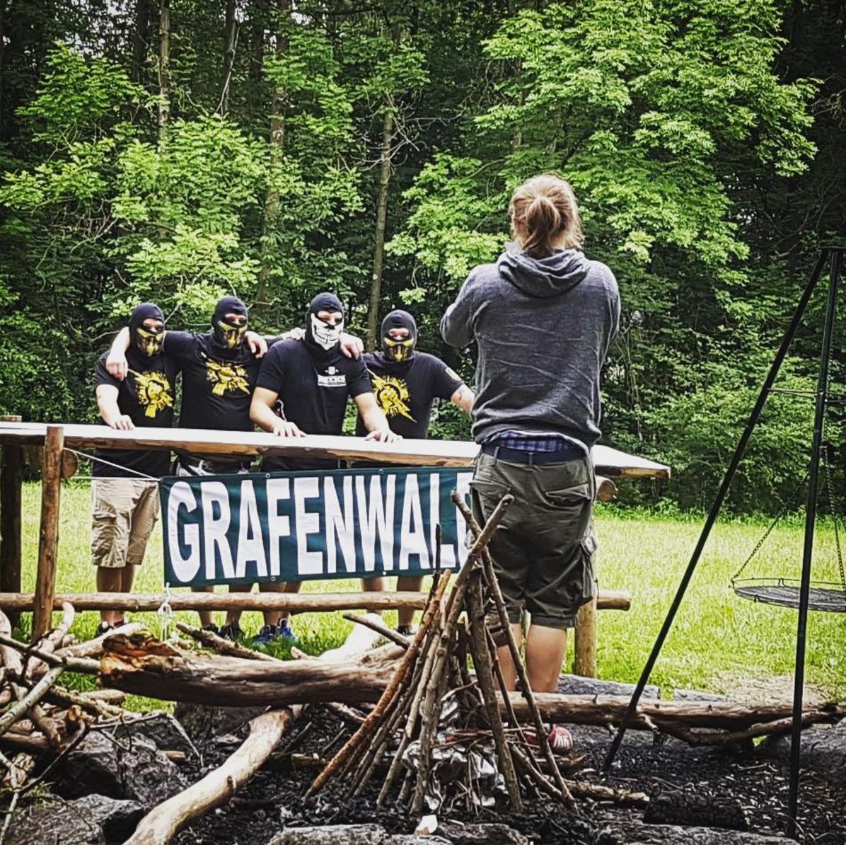 Abbildung 6: Sommerfest der IA mit Hooligans aus Grafenwald bei Bottrop
